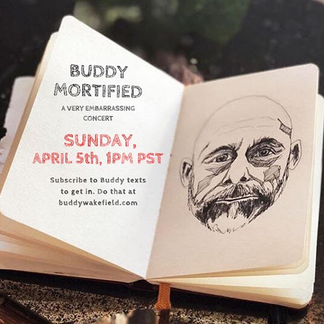 Image from Buddy's Instagram
